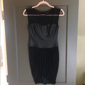 BCBG black bodycon dress